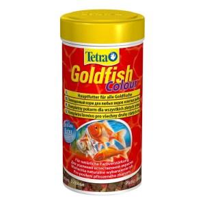 Сухой корм для аквариумных рыб в хлопьях Tetra Gold fish COLOUR (для золотых рыбок) 100 мл.; 250 мл.