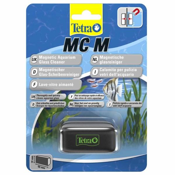 Магнитная щетка для чистки стекл аквариума Tetra Magnet Cleaner M (60 x 31 см.)