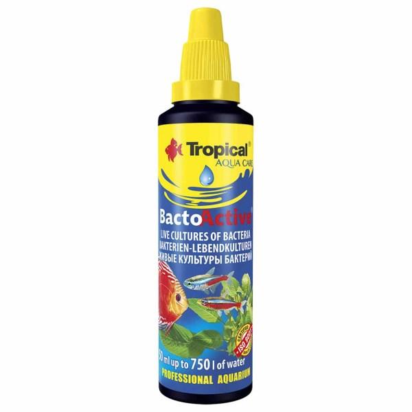 Средство для подготовки биологической среды Tropical Bacto-Active 30 мл.