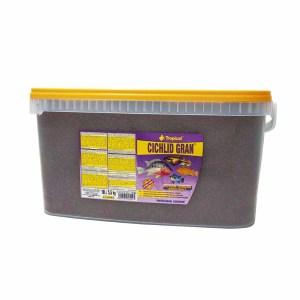 Сухой корм для аквариумных рыб в гранулах Tropical Cichlid Gran (для цихлид)