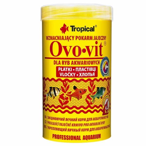 Сухой корм для аквариумных рыб в хлопьях Tropical Ovo-Vit (для всех аквариумных рыб)