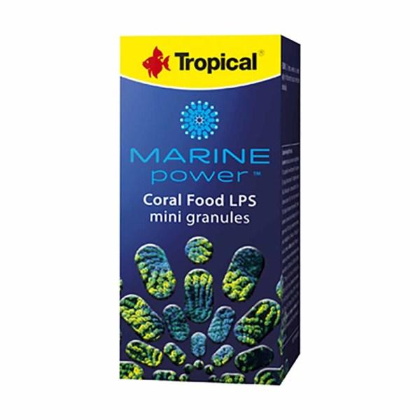 Корм в гранулах Tropical Marine Power Coral Food Lps Mini Granules (для кораллов) 70 гр.