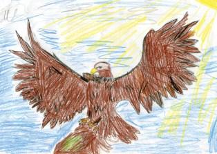 Kids Art_Birds of Prey_Angelica