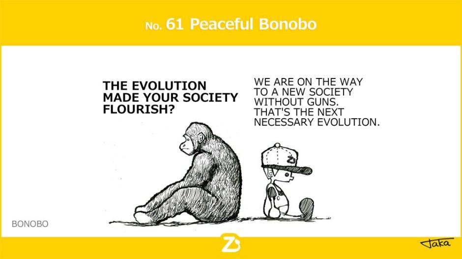 Peaceful Bonobo