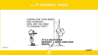 No. 77 FRIENDLY TASKS/ 脳のワーキングメモリー