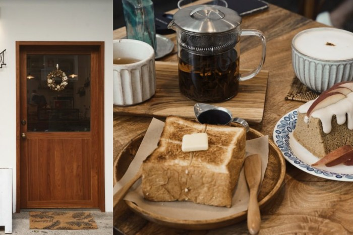 新竹咖啡廳 階段甜點 母女倆的日常 在麵粉與咖啡中發酵著 *推薦抹茶戚風蛋糕