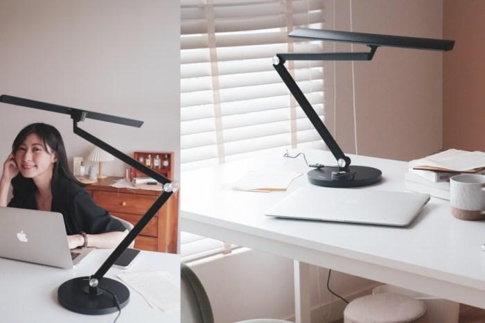 居家工作好幫手:SYLSTAR喜光 LED 全光譜護眼檯燈,五段式色溫,智能觸控新體驗。