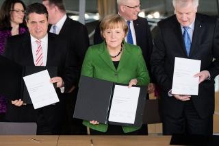 Njemačka koalicijski ugovor CDU-CSU-SPD