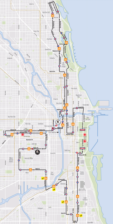 Chicago Marathon Route And Event Rules Internet Marketing Tips