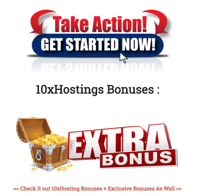 10xHostings Bonuses