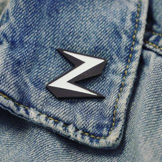 Z Logo - Zorg Metal Soft Enamel Pin