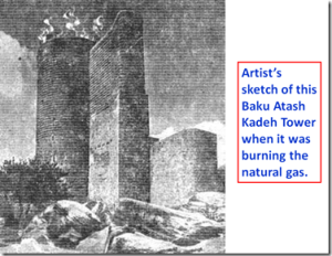 Artist's Schematic of Baku Atash Kadeh