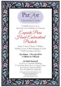 Parzor Chennai Exhibition  11 JUly 14