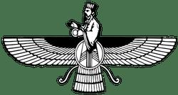 Image result for zoroastrian logo symbol