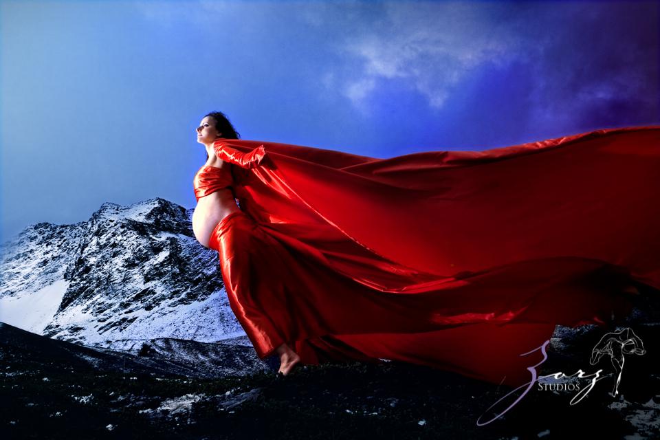 Destination Maternity: Alaskan, Russian, Tough, Pregnant. By Zorz Studios. (68)