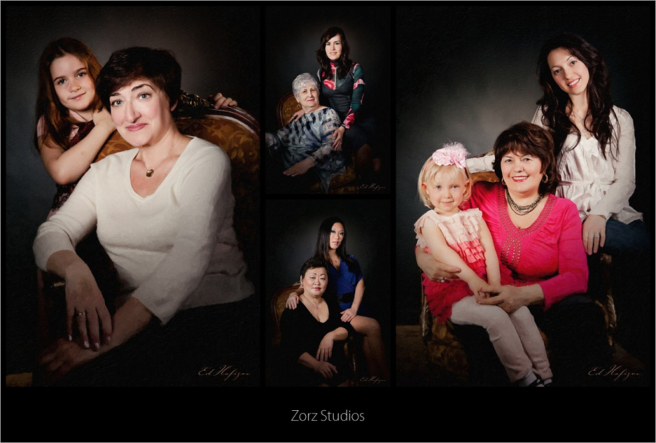 Free Portraits for Zorz Studios' Clients' Mothers