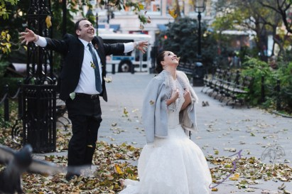 Wind Tunnel: Vlada + Alex = Cold NYC Wedding (43)