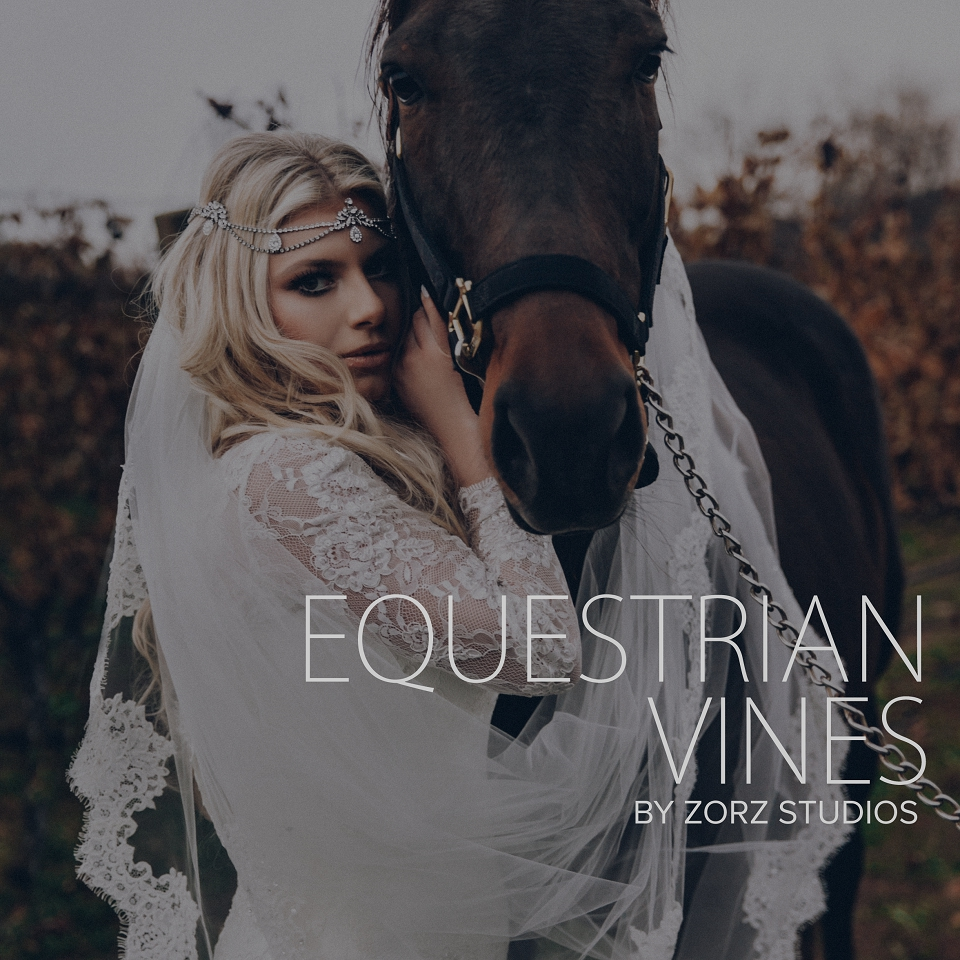 Equestrian Vines: Shannon + Al = Poetic Trash the Dress Session by Zorz Studios