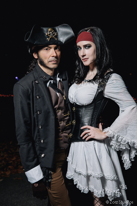 Annie + Chris = Steampunk Wedding by Zorz Studios (5)
