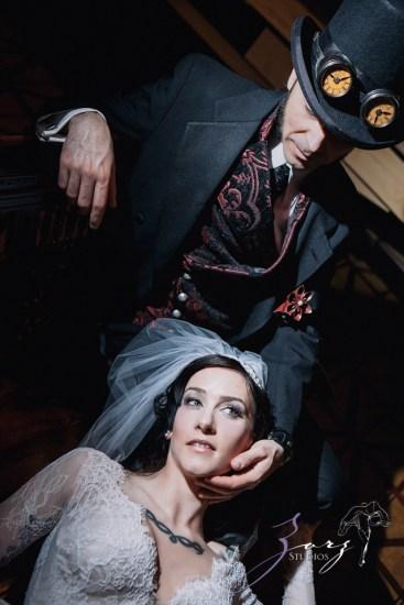 Annie + Chris = Steampunk Wedding by Zorz Studios (56)