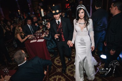Annie + Chris = Steampunk Wedding by Zorz Studios (17)