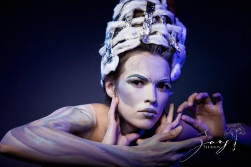 Snow Angel: Art Portraiture by Zorz Studios (5)
