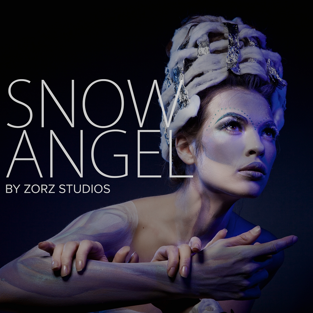 Snow Angel: Art Portraiture by Zorz Studios (15)