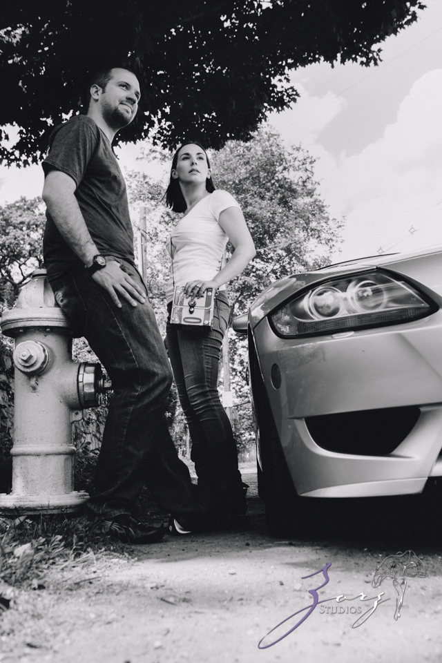 Wheel You? Celina + Brian = Engagement Session by Zorz Studios (7)