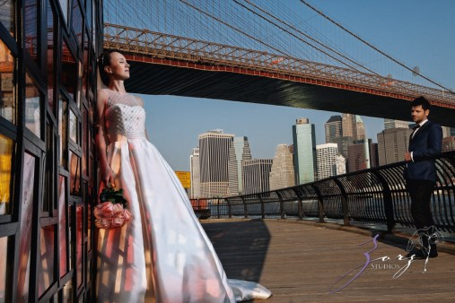 Conte Sorinula: Mya + Sorin = NYC Trash-the-Dress Shoot by Zorz Studios (15)