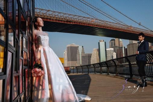 Conte Sorinula: Mya + Sorin = NYC Trash-the-Dress Shoot by Zorz Studios (15)