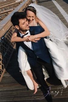 Conte Sorinula: Mya + Sorin = NYC Trash-the-Dress Shoot by Zorz Studios (12)