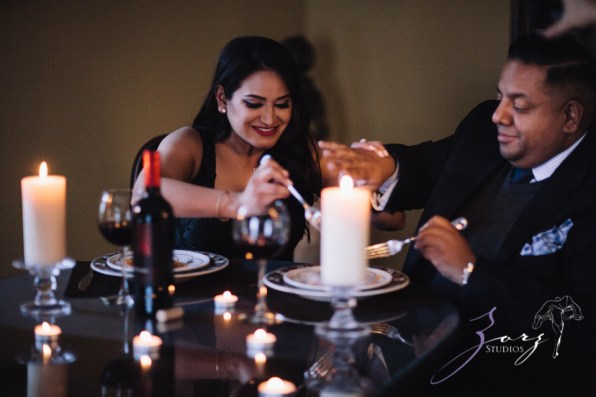 Who's The Chef? Rupal + Krishna = Food Fight Engagement Session by Zorz Studios (36)