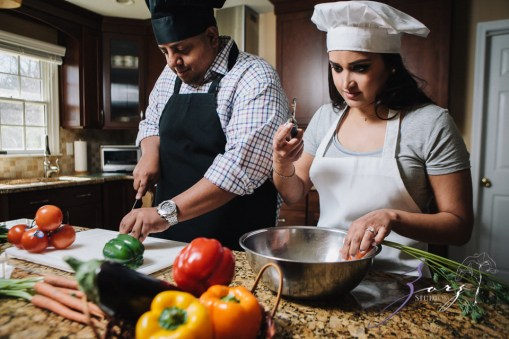 Who's The Chef? Rupal + Krishna = Food Fight Engagement Session by Zorz Studios (33)
