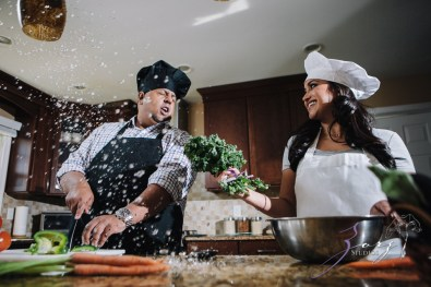 Who's The Chef? Rupal + Krishna = Food Fight Engagement Session by Zorz Studios (25)
