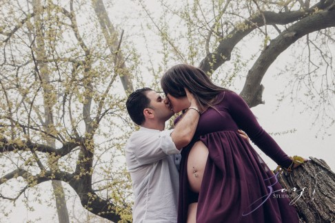 Poetic Maternity Session in the Mist by Zorz Studios (17)