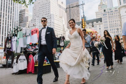 State of Mind: Leah + Joseph = Manhattan Rooftop Wedding (65)