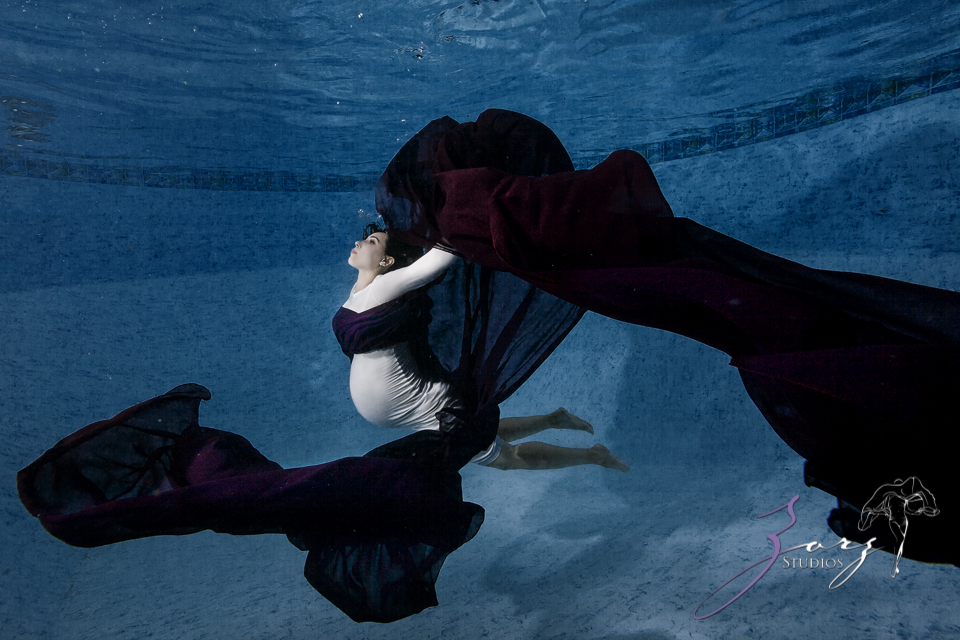 Eagle's Nest: Epic Maternity Session (+Underwater Bonus) by Zorz Studios (1)