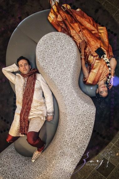 7th Circle: Manjula + Evan = Indian-Jewish Wedding by Zorz Studios (47)