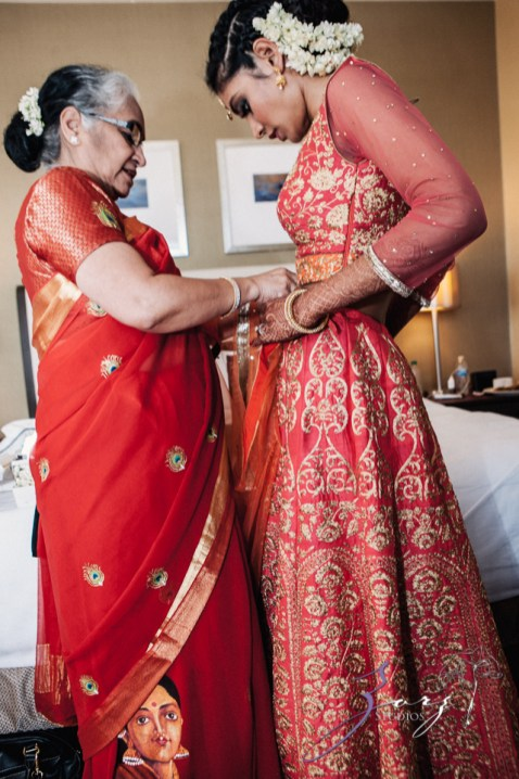7th Circle: Manjula + Evan = Indian-Jewish Wedding by Zorz Studios (32)