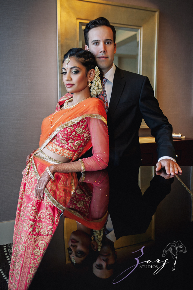 7th Circle: Manjula + Evan = Indian-Jewish Wedding by Zorz Studios (27)