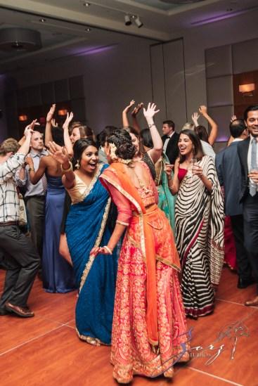 7th Circle: Manjula + Evan = Indian-Jewish Wedding by Zorz Studios (10)