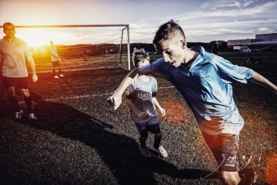 House of Red Cards: Tough Soccer Family Photoshoot by Zorz Studios (18)