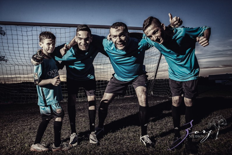 House of Red Cards: Tough Soccer Family Photoshoot by Zorz Studios (14)