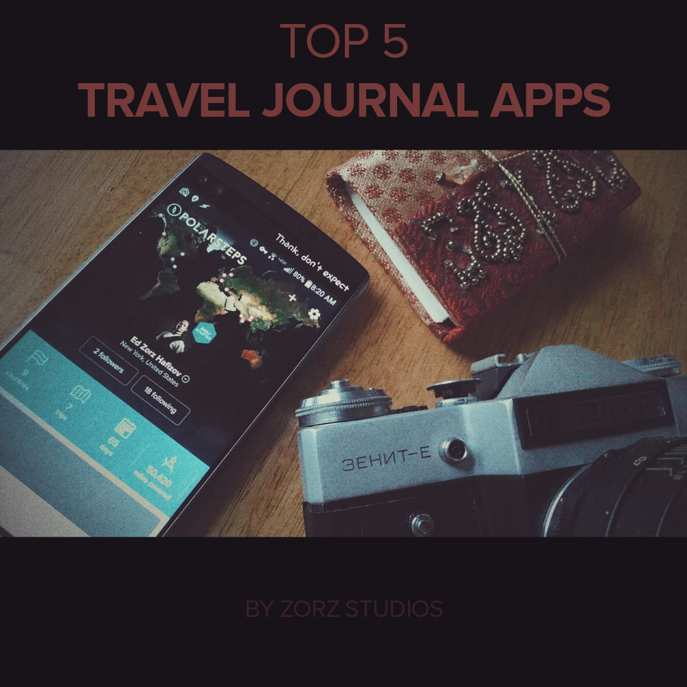 Top 5 Travel Journal Apps Review by Zorz Studios (1)