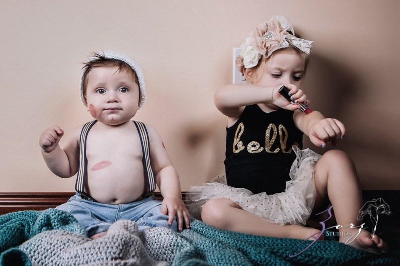 Puppy Jump 2: Mischievous Baby Photoshoot by Zorz Studios (3)