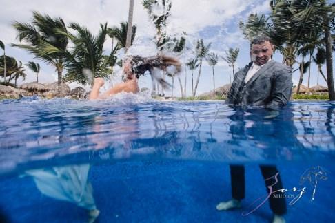 Caught in Traffic: Olessa + Joe = Punta Cana Destination Wedding by Zorz Studios (12)