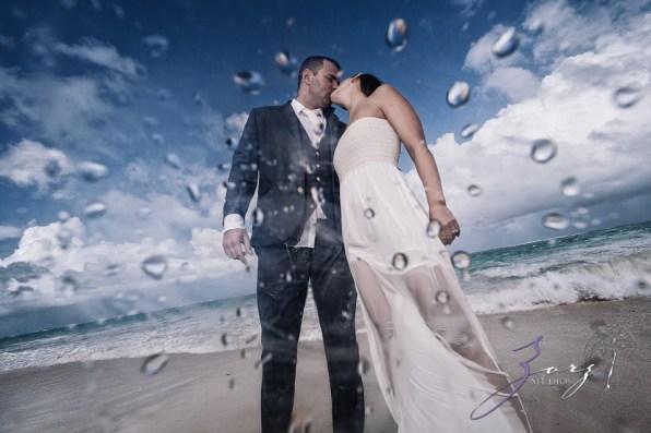 Caught in Traffic: Olessa + Joe = Punta Cana Destination Wedding by Zorz Studios (1)
