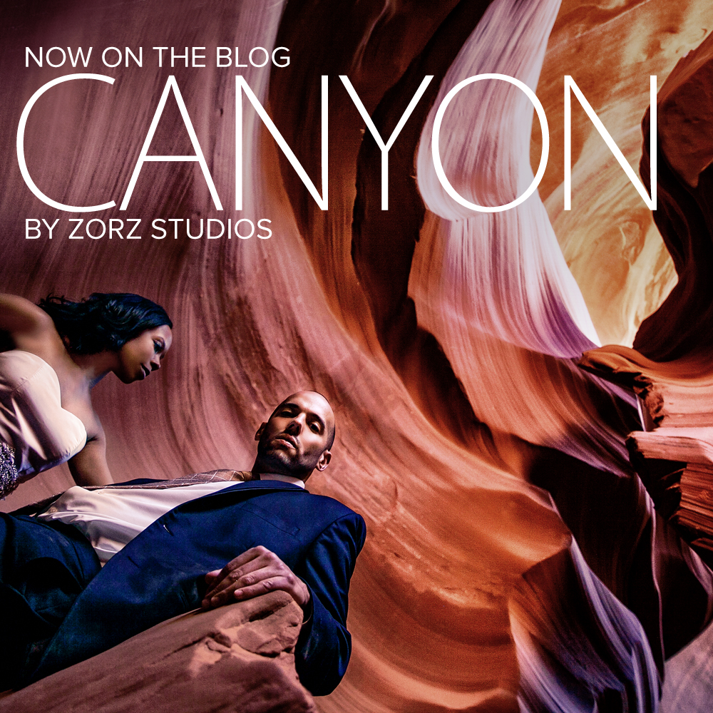 Canyon: Fashionable Engagement Session at Antelope Canyon by Zorz Studios (31)
