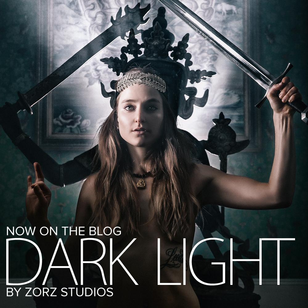 Dark Light: A Daring Boudoir Session by Zorz Studios (1)