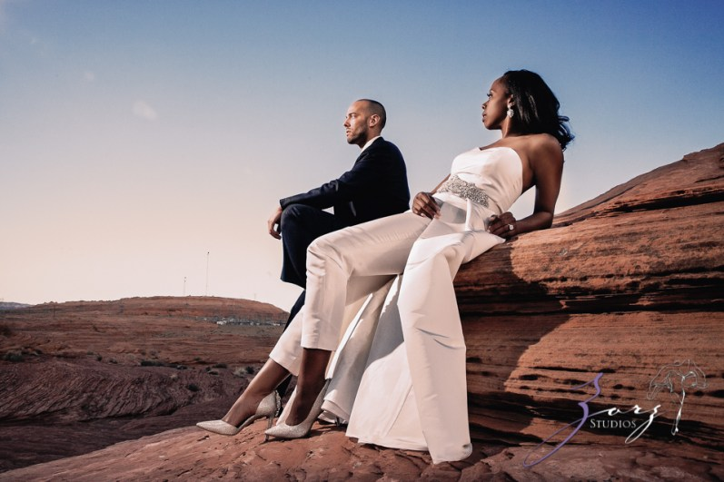 Canyon: Fashionable Engagement Session at Antelope Canyon by Zorz Studios (28)